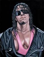 Bret The Hitman Hart by BruceWhite