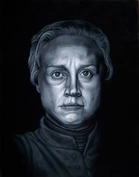Brienne Of Tarth black velvet painting