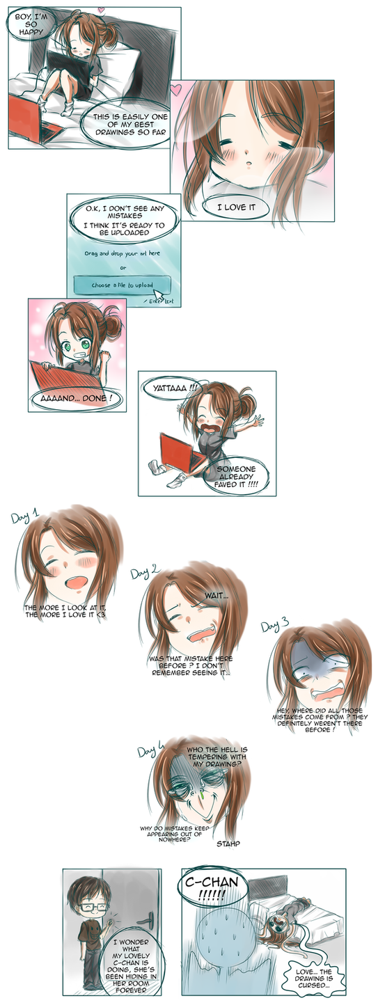 Artist problems #1 by DrC-Art-Theater