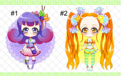 [SALES] Sweet Fruity Adoptables [OPEN] by DrC-Art-Theater