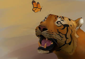 Tiger WIP by laurencedge