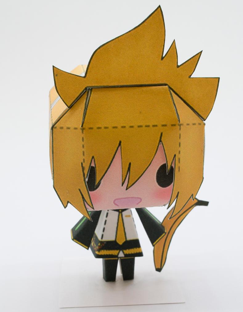 Chibi Paper Craft Sailor Moon