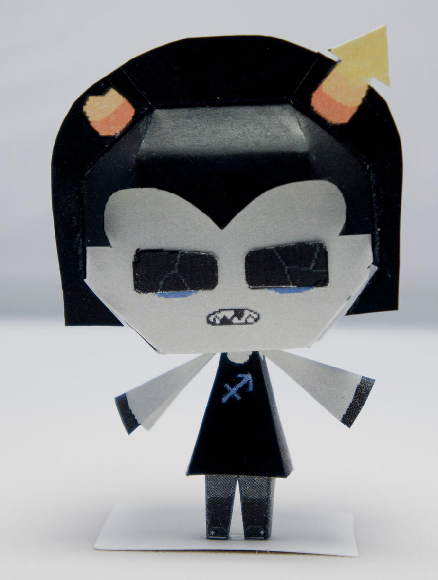 Equius homestuck papercraft by kittyintheraiyn on deviantart for Paper craft home