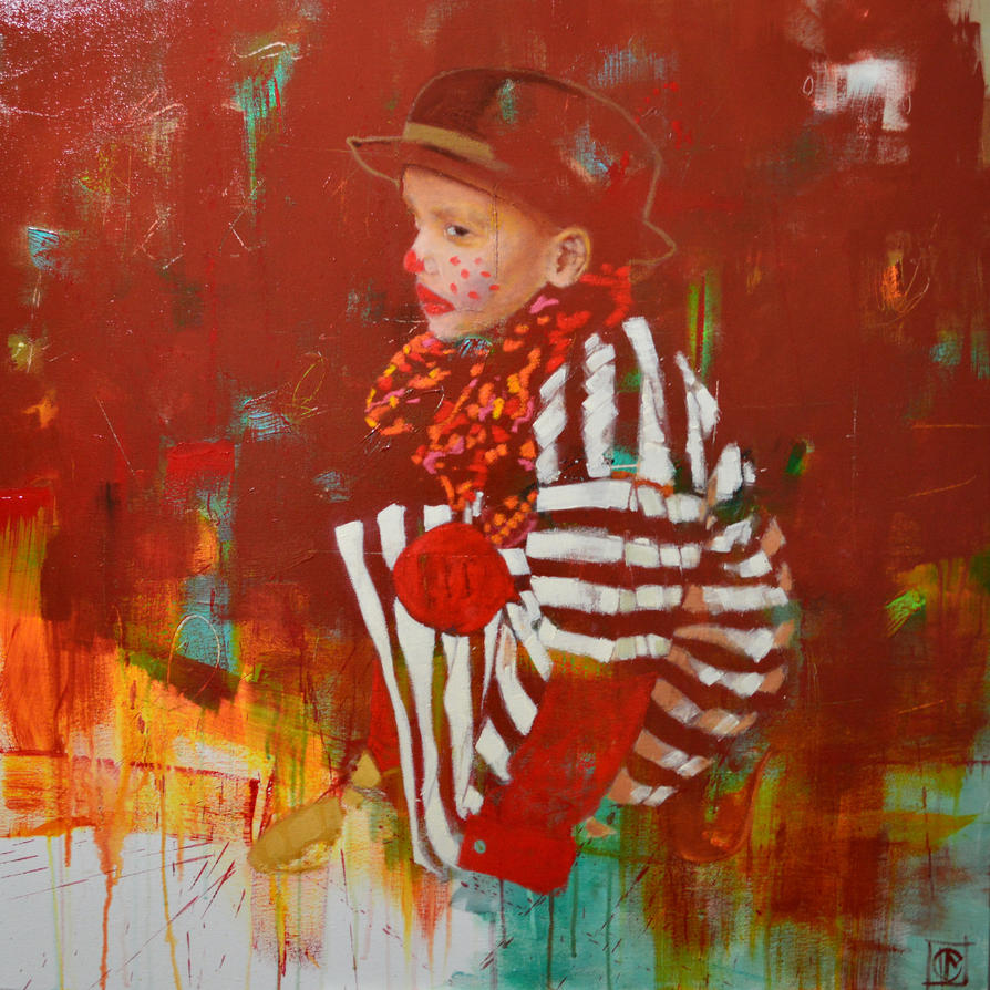 Little clown by Acrymat