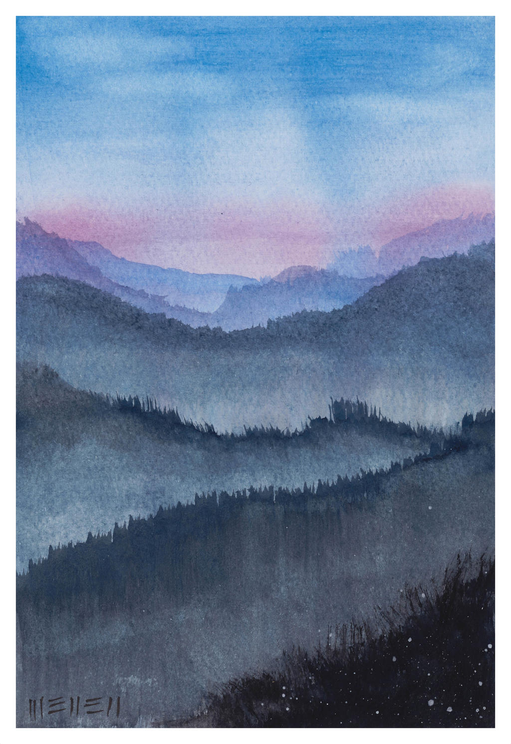 Mountain sound by dominikmellen