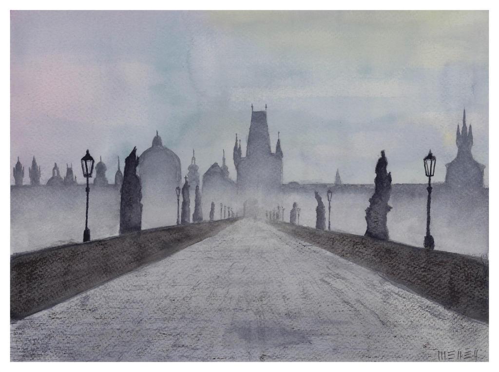 Hundred-spired Prague by dominikmellen