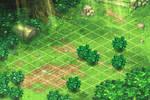 Scene for Battle. Green1