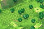 Scene for Battle. Green2