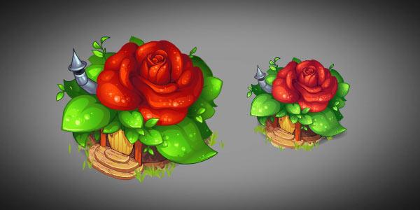 Flowerhouse by Mangust-art