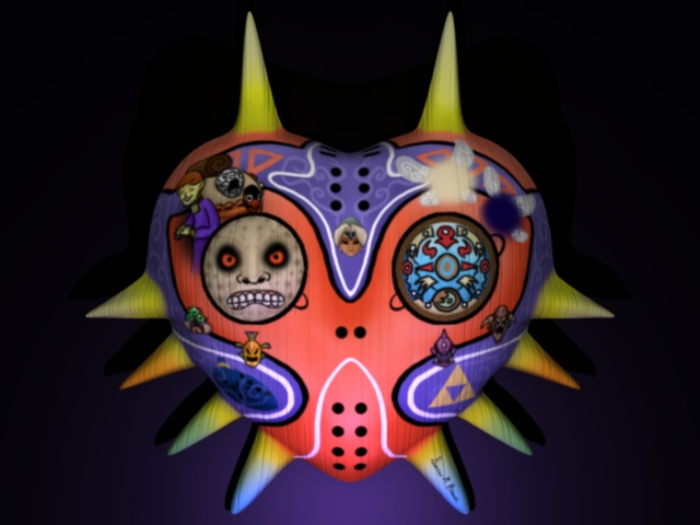 Majora's Mask (Contest Entry) by fishcakes94