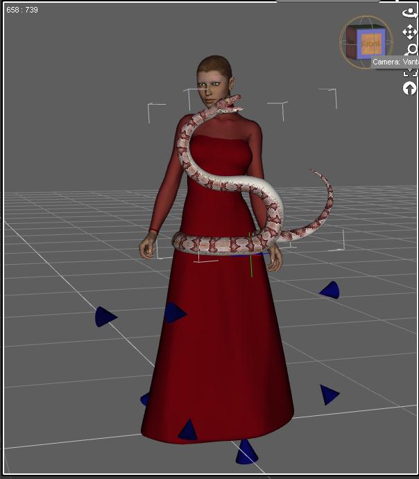 WIP - Lady Varga of Dreyrull by HuntressLight