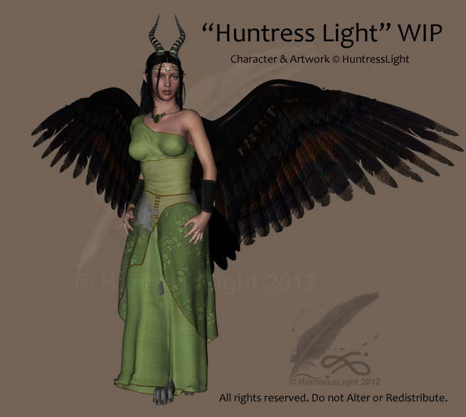 WIP 2 - The Huntress Light by HuntressLight