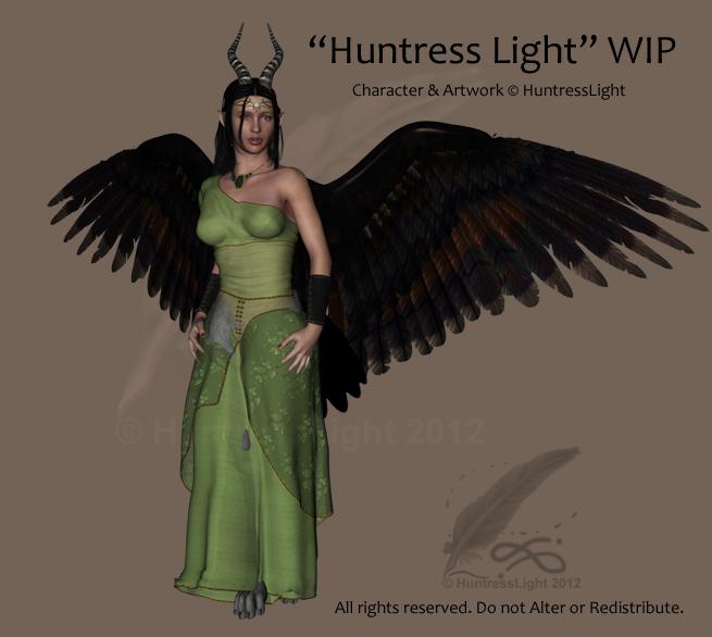 WIP 2 - The Huntress Light by HuntressLight