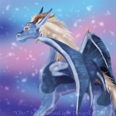 Ohr Dragon - Digital Speed Paint by HuntressLight
