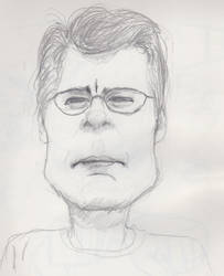 Stephen King by Artfoundry