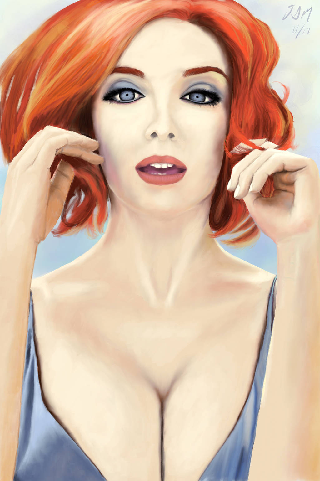 Christina Hendricks by Artfoundry