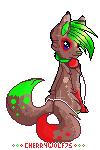 Cherrywolf75 pixel doll by FeIinae