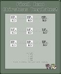 Pixel Icon Templates