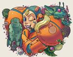 E-Tank Girl... Fun with Metroids! by The-nostalgia-runs