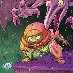 Grab that Metroid!