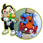 His Assignment: Squirt Spidey!
