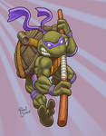 Donatello does machines by The-nostalgia-runs