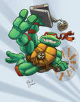 Michelangelo what party dude. by The-nostalgia-runs