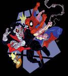 Morbuis VS Spiderman