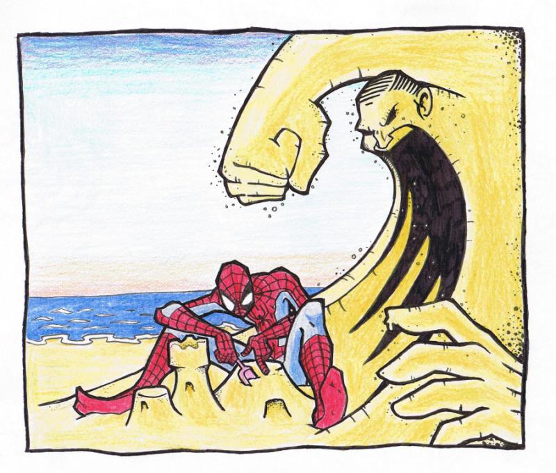 Spider-Man by The-nostalgia-runs