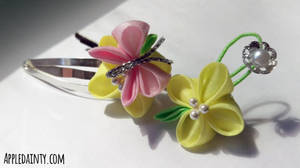 Canola Clip and Hairpin