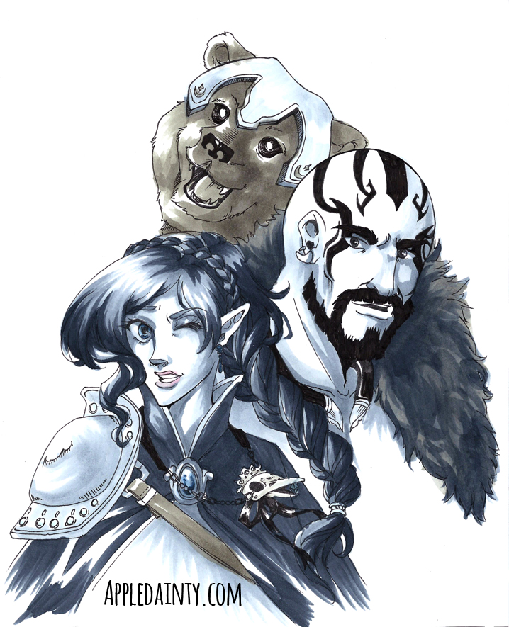 Critical Role Dex Trinket And Grog By Appledainty On Deviantart Find me in the ashes#criticalrole #criticalrolefanart. critical role dex trinket and grog by