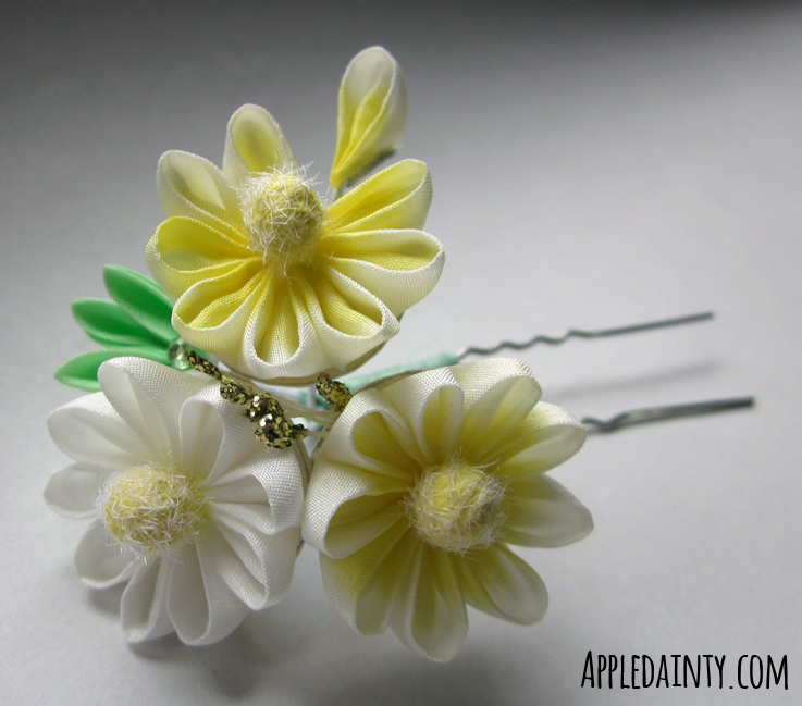 Daisy, Daisy Trio by AppleDainty