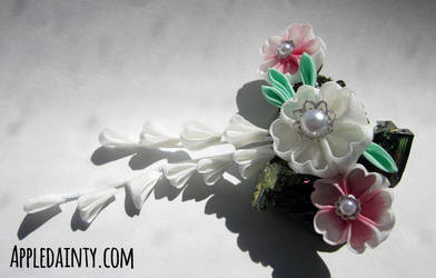 Cherry Blossom Barrette by AppleDainty