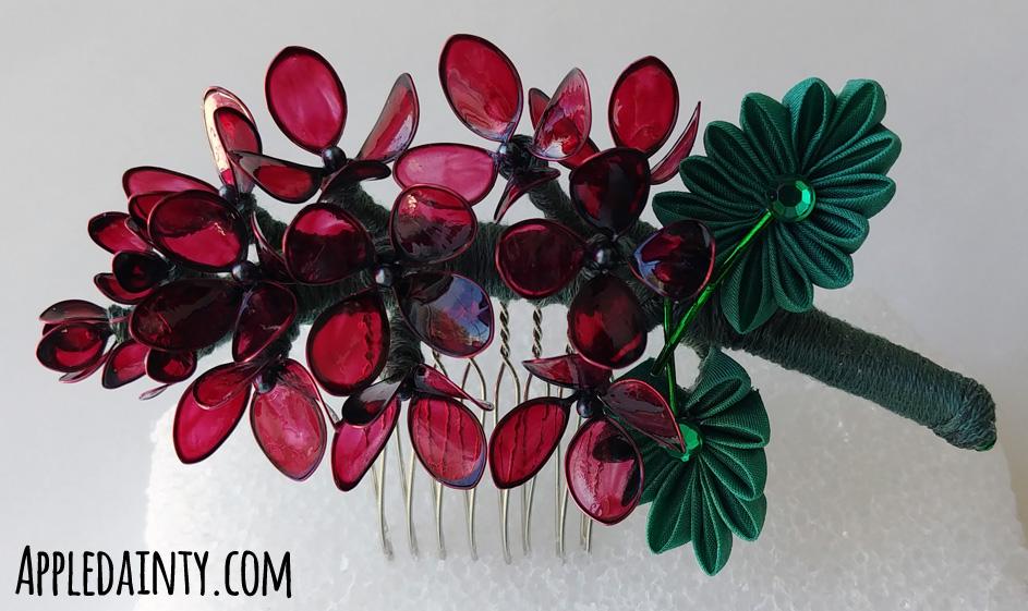 Dark Lilac Comb by AppleDainty
