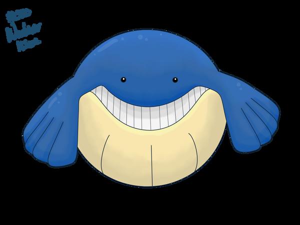 320 Wailmer by pokemon-countdown on deviantART Wailmer Pokemon