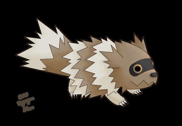 263 zigzagoon by pokemoncountdown on deviantart