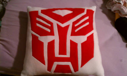 Transformers Pillow Autobot Side