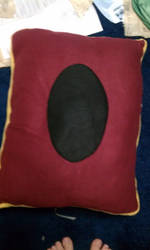 YGO Card Pillow Reverse Side