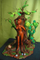 Painted Dryad by Planchu