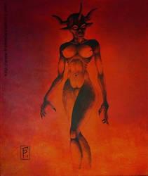 Demona by Planchu