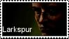 Larkspur stamp by droidmobil