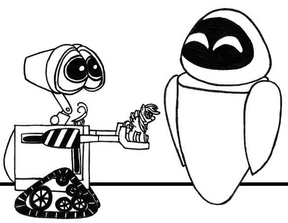 WALL-E's Little Pony by SamuelEAllen