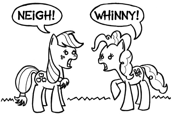 Pony Ponies Ponying by SamuelEAllen