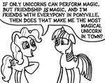 The Magic of Pinkie Logic