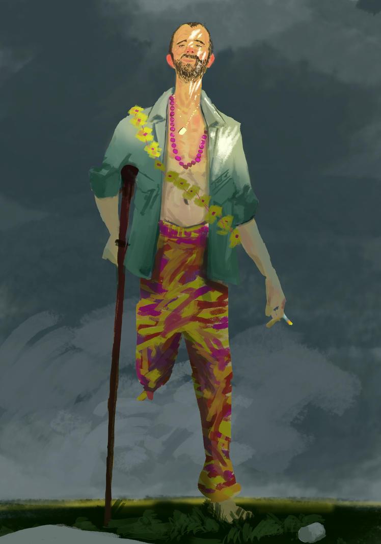 Monthly Character Design Challenge : Ggordge gerald gordge deviantart
