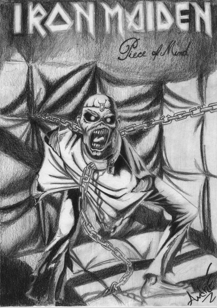 Fan art from Iron Maiden cover Piece of Mind by dehjr on ...