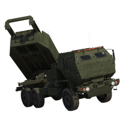 M142 High Mobility Artillery Rocket System by Aebian