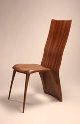Walnut Chair by RossRuppel
