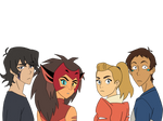 Lance,Adora/she-ra,Keith and Catra png