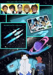 Voltron: Next Gen comic (page 1)